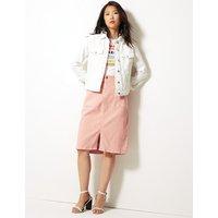 MandS Collection Utility Denim Skirt