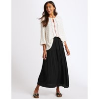 M&S Collection Crinkle Full Maxi Skirt