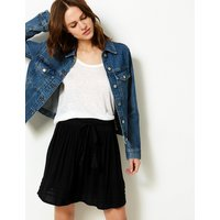 MandS Collection Pleated Mini Skirt