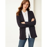 M&S Collection Striped Jersey Blazer