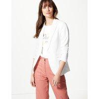 M&S Collection Tailored Stitch Detail Blazer