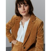 Autograph Cotton Rich Textured Corduroy Blazer