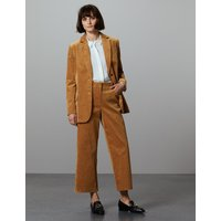 Autograph Cotton Rich Textured Corduroy Trousers