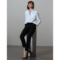 Autograph Slim Leg Ankle Grazer Trousers with Wool