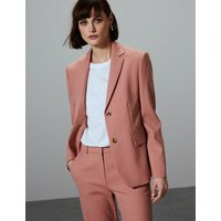 Autograph Single Breasted Blazer with Wool