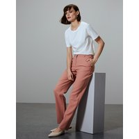 Autograph Straight Leg Ankle Grazer Trousers with Wool