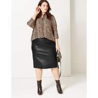 M&S Collection CURVE Ponte Pencil Skirt