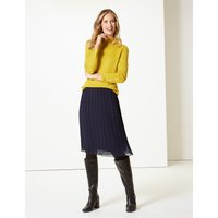 M&S Collection Pleated Skirt