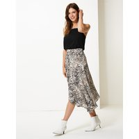 M&S Collection Animal Print Wrap Skirt