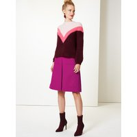 M&S Collection Wool Blend A-Line Skirt