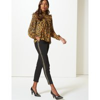 M&S Collection Embellished Side Stripe Trousers