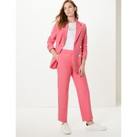 M&S Collection Straight 7/8th Leg Trousers