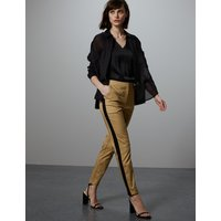 Autograph Straight Leg Side Stripe Trousers