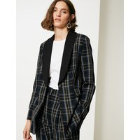 Limited Edition Checked Flap Pocket Blazer