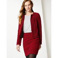 M&S Collection Animal Print Jersey A-Line Skirt