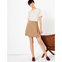 MandS Collection Pleat Front Mini Skirt