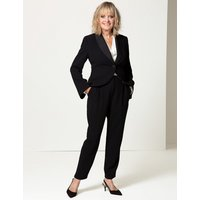 Twiggy for M&S Collection Single Breasted Bow Back Blazer