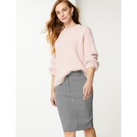 MandS Collection Checked Pencil Skirt