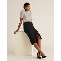 MandS Collection Split Front Midi Pencil Skirt