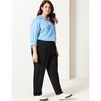 M&S Collection CURVE Straight Leg Trousers