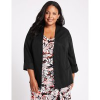 M&S Collection CURVE 3/4 Sleeve Blazer