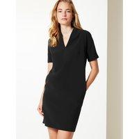 M&S Collection V Neck Tunic Shift Dress