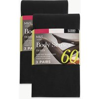 M&S Collection 6 Pair Pack Body Sensor Opaque Tights