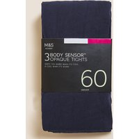 M&S Collection 3 Pair Pack 60 Denier Body Sensor Tights