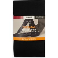 M&S Collection 200 Denier Fleece Lined Thermal Tights