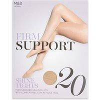 M&S Womens 20 Denier Firm Support Tights - Rose Quartz, Rose Quartz,Pale Opaline,Black