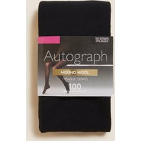 Autograph 100 Denier Merino Wool Blend Opaque Tights