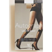 Autograph 3 Pair Pack Ladder Resist Matt Knee Highs