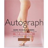 Autograph 5 Denier Bare Invisible Slip Resist Tights