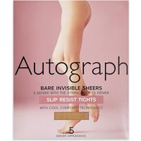 Autograph 5 Denier Bare Invisibles Slip Resist Tights