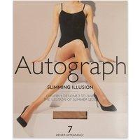 Autograph 7 Denier Slimming Illusion Sheer Tights