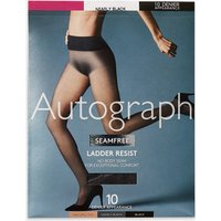 Autograph 10 Denier Seamfree Ladder Resist Matt Tights