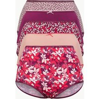 M&S Collection 5 Pack Cotton Rich Full Brief Knickers