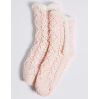 1 Pair Of Knitted Socks (2-14 Years)