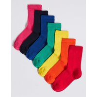 7 Pairs of Ankle Socks (1-14 Years)