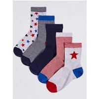 5 Pairs of Socks with Freshfeet (1-14 Years)