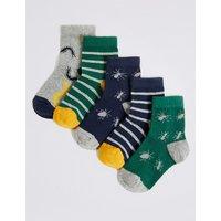 5 Pairs of Socks with Freshfeet