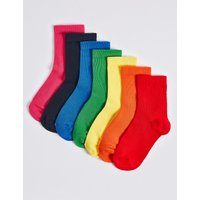 7 Pairs of Socks with Freshfeet (1-14 Years)