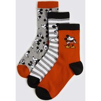 3 Pairs of Mickey Mouse Socks
