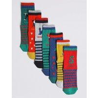 7 Pairs of Ankle Socks (1-6 Years)