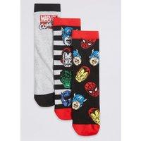 3 Pairs ofMarvel Heroes Socks