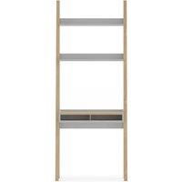 Jones Grey Ladder Desk Storage