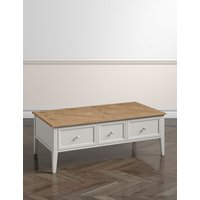 Greenwich Grey Rectangle Coffee Table