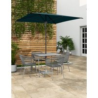 M&S Square Parasol - 1SIZE - Teal, Teal