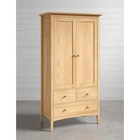 Hastings Light Natural Double Wardrobe