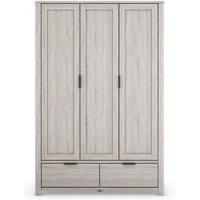 MandS Cora Triple Wardrobe - Grey, Grey